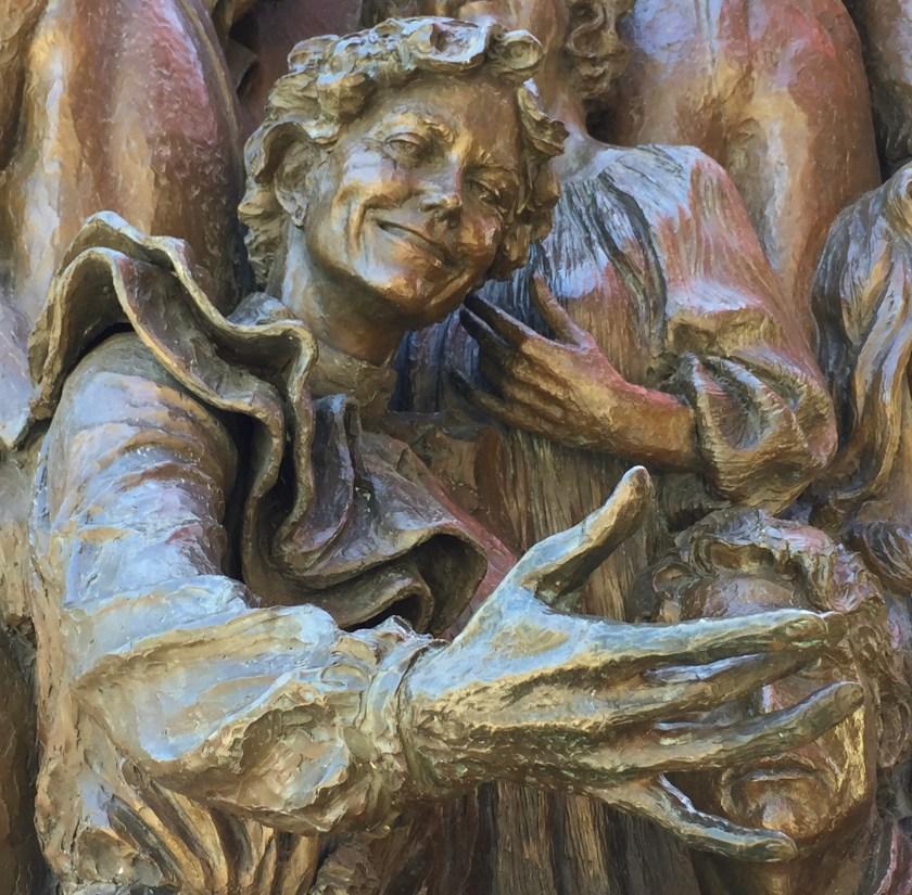 Kate Sullivan in Street scene sculpture