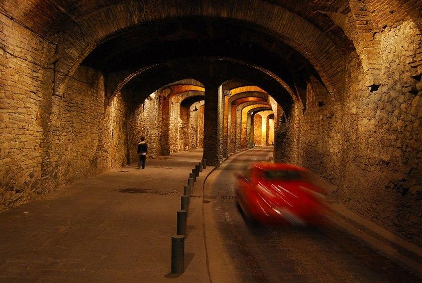 Guanajuato, Mexico tunnel