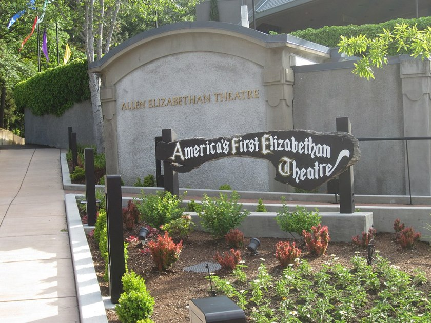 Oregon Shakespeare Festival sign