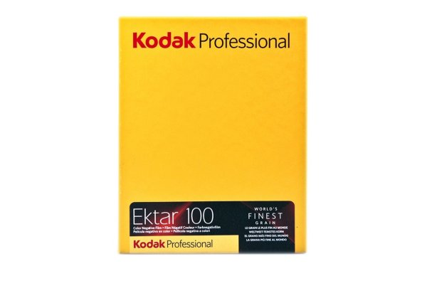 Ektar 100 4x5 - 10 Sheets
