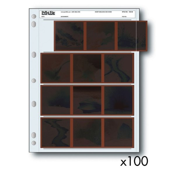 Negative Sleeves 120 Film - 100 Pack