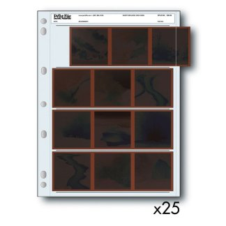Negative Sleeves 120 Film - 25 Pack
