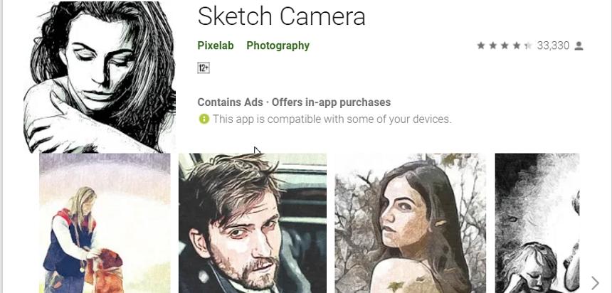 讓 Sketch Camera 輕鬆將你的照片變素描風格