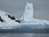 Interesting patterns in the ice near Danco Island