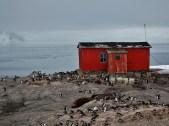 Abandoned Argentine naval base on D'Hainaut Island