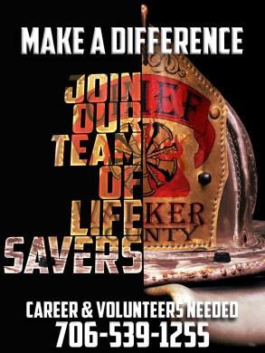 Fire Department Recruitment Poster