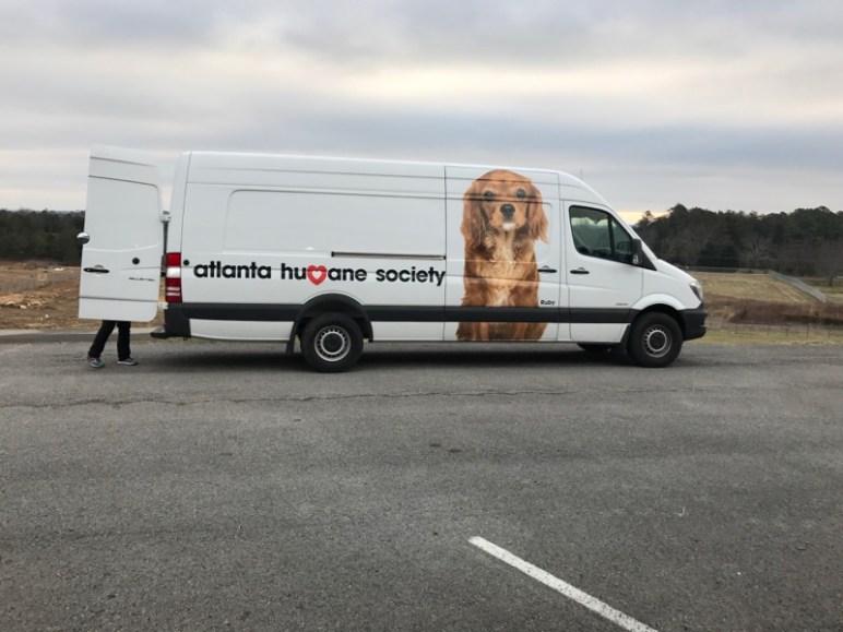 Atlanta Humane Society Van
