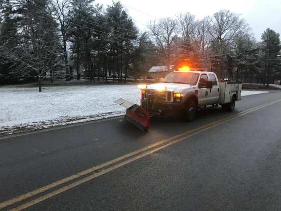 Snow Plow in Walker County
