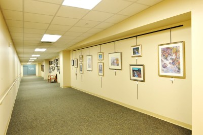 Picture Hanging System St. Lukes 2
