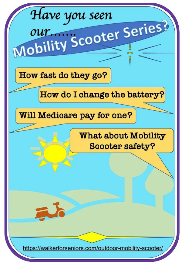 Mobility Scooter infographic