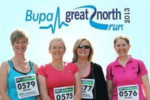 bupa great north run 2013 promo image