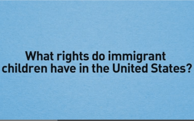 The Rights of Immigrant Children in the United States