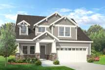 2 Story Craftsman Home House Plan