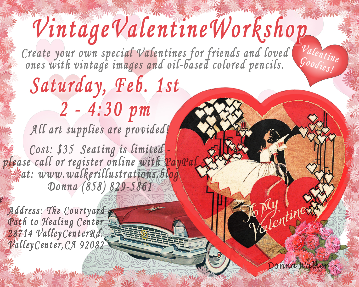 Vintage Valentine Workshop
