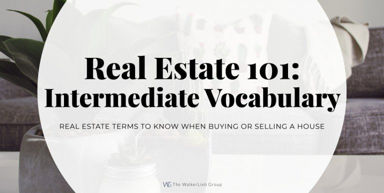 Real Estate 101: Vocabulary You Need to Know – Intermediate