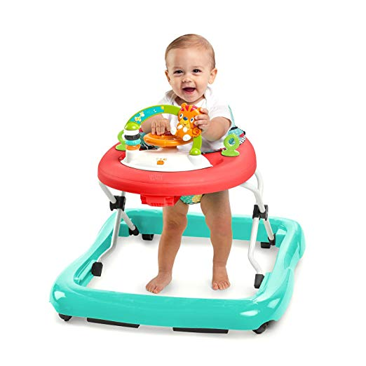 Kids Safety Infant Learn Walk A Bout Walker Jumper Roaming Safari Toy New