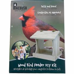 Pinebush Wood Bird Feeder DIY Kit
