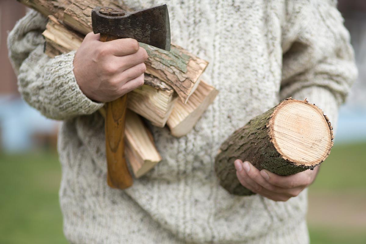 Kiln Dried Logs chopped