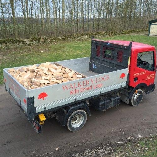 Singler Load Kiln Dried Logs