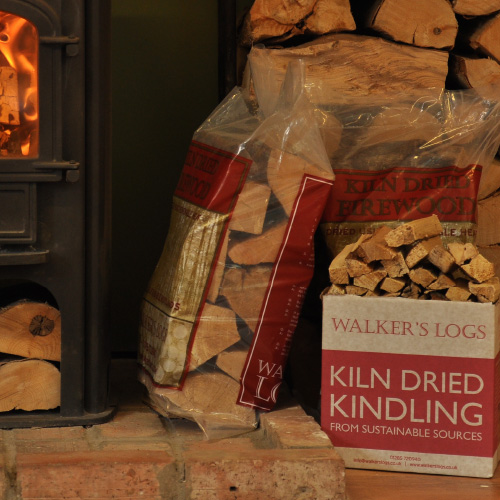 Bag Kiln Dried Logs and Box Kindling