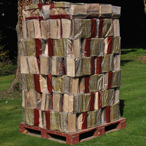 80 Bags of kiln dried logs firewood