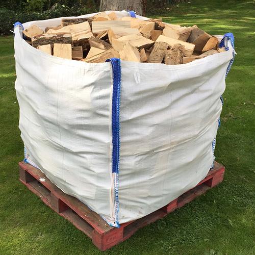 Bulk bag kiln dried firewood logs very dry