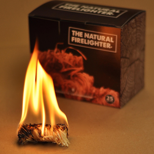 Natural Firelighters from Walkers logs