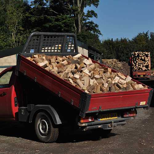 Single load of Walkers Kiln Dried Logs