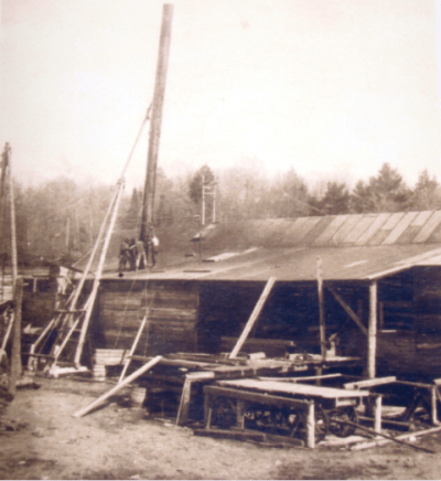 Campbells' Saw Mill in Shanty Bay, Walkers-Point