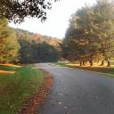 Walking in Early Fall