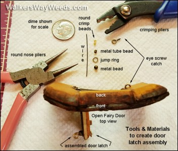 Latch tools and materials