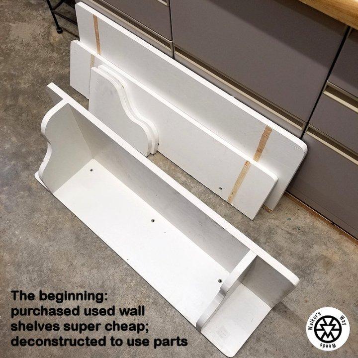 old shelves