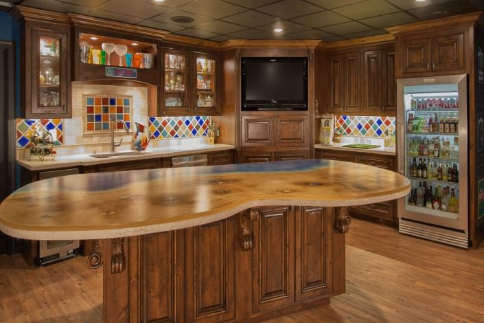 Bar And Wine Rooms Custom Cabinets By Walker Woodworking