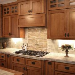 Hickory Shaker Style Kitchen Cabinets Runner Rugs For Craftsman Cabinetry | Walker Woodworking