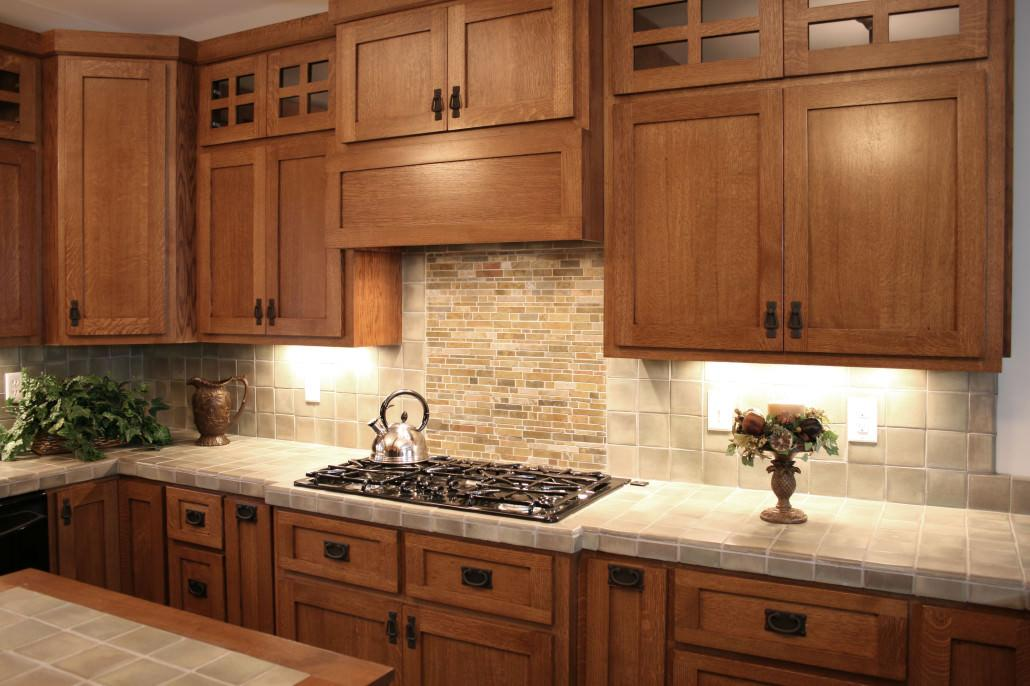 hickory shaker style kitchen cabinets faucet repair craftsman cabinetry | walker woodworking