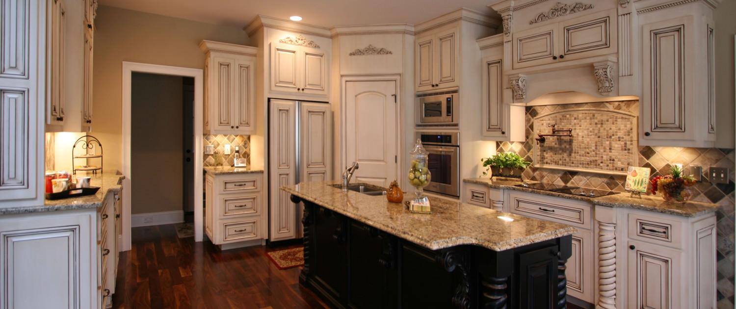 Cabinets French Country Style ~ Project 3