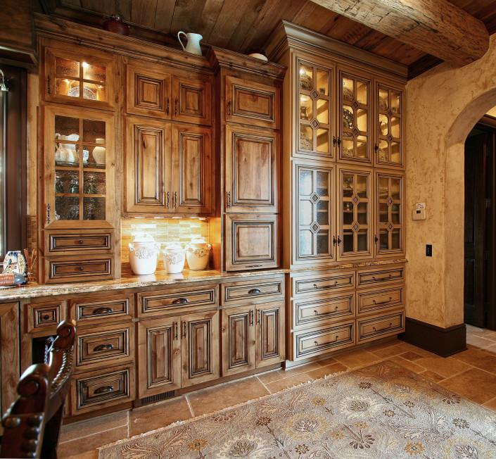 Rustic Home Design French Country Style Cabinetry | Walker Woodworking