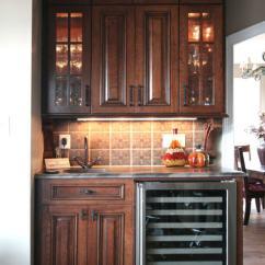 Pictures Of Custom Kitchen Cabinets Tile Floor Wet Bars & Dry   Walker Woodworking