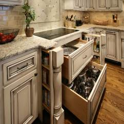 Semi Custom Kitchen Cabinets Reviews Taupe Painted Walker Woodworking Cabinetry Before And After ...