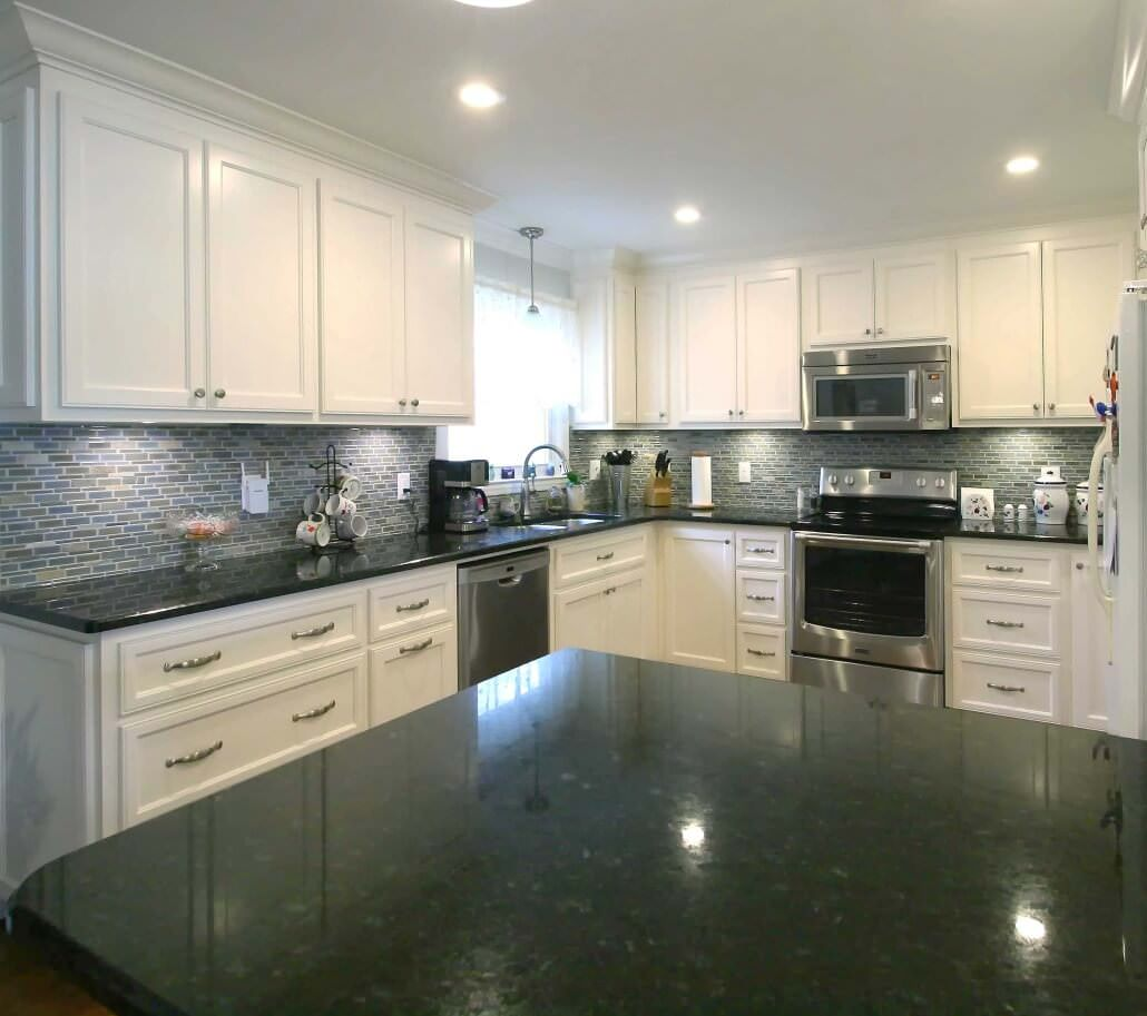 Kitchen Remodel White Cabinets  Walker Woodworking