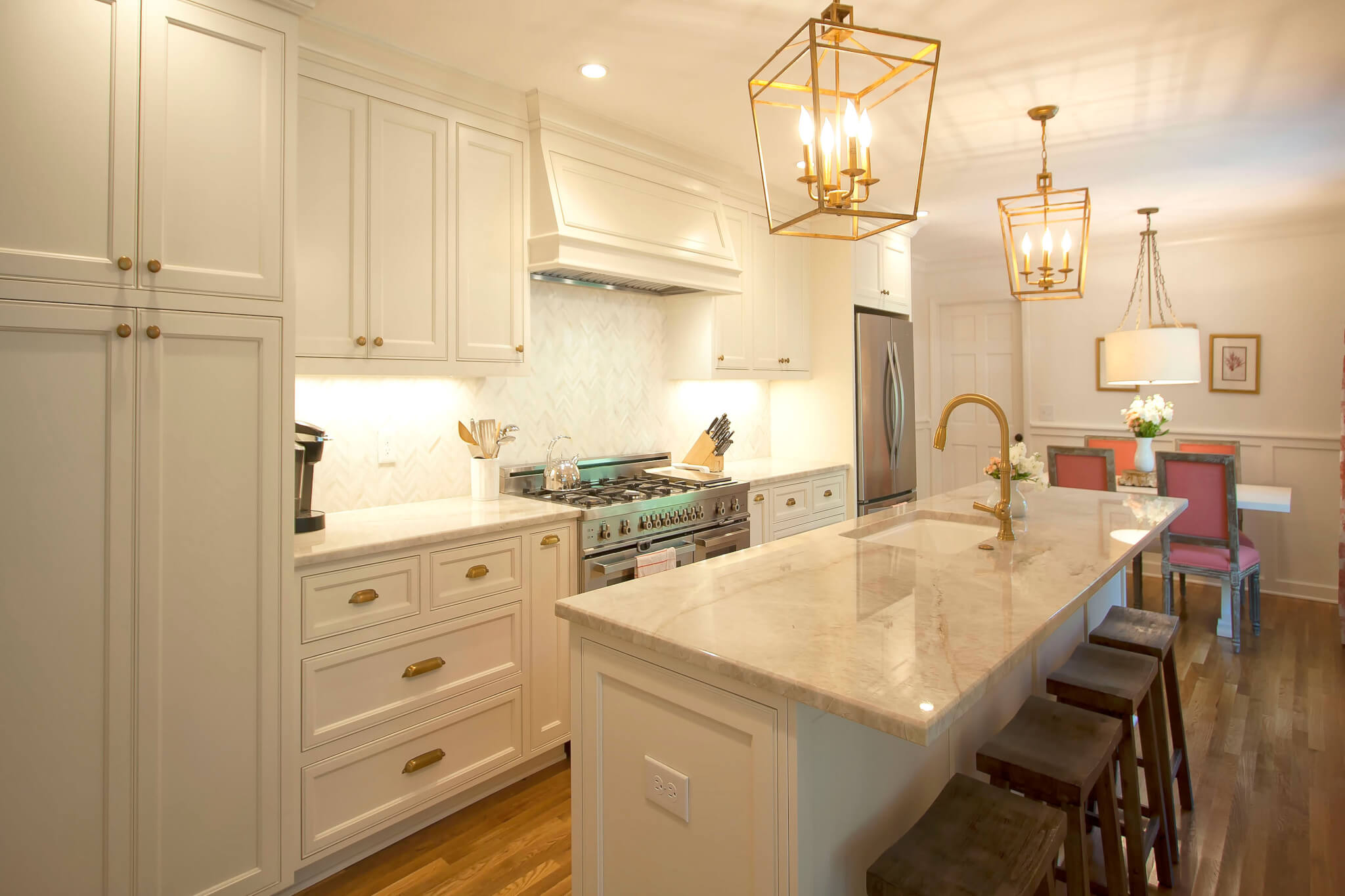 semi custom kitchen cabinets reviews wall decorations transitional project 14 walker woodworking