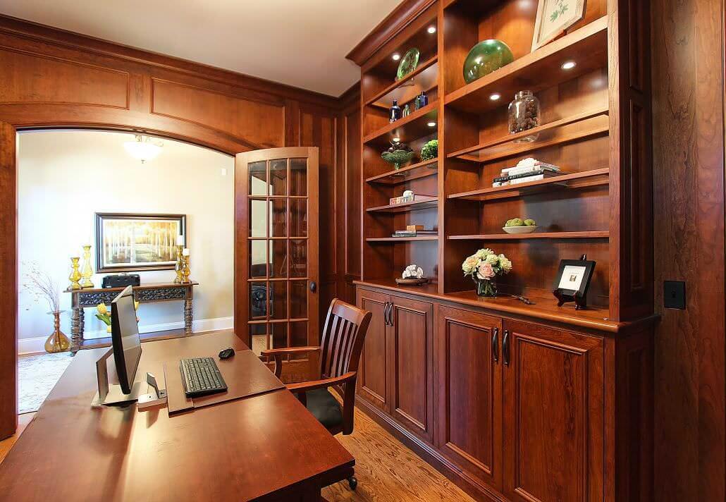 kitchen cabinets charlotte nc new sink installation cherry office mill work | walker woodworking