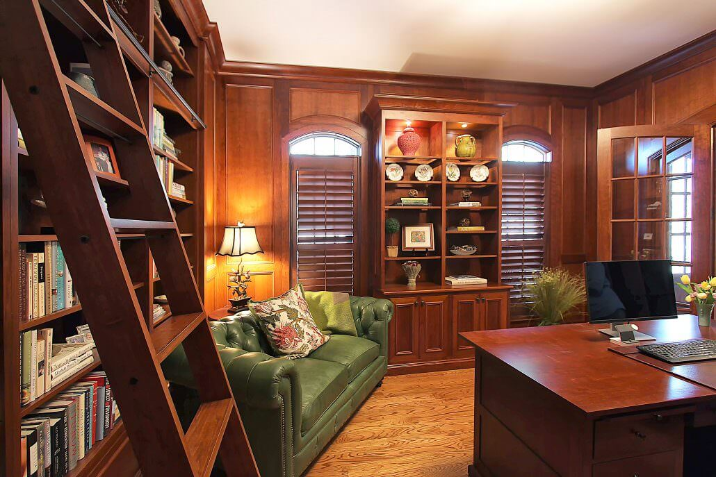rolling kitchen cabinet home depot moen faucets cabinets for office and study by walker woodworking
