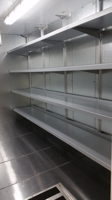 WalkIn Cooler Shelving Systems