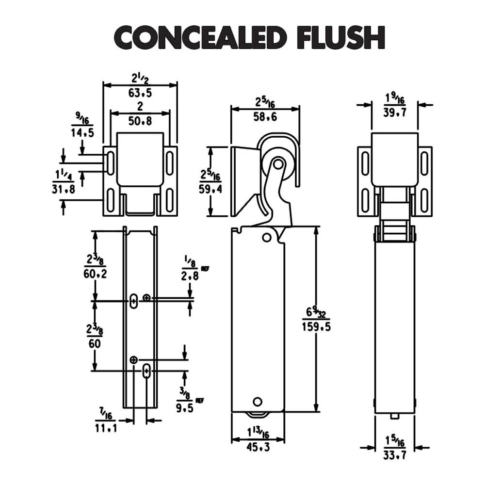 DOOR CLOSER – KASON 1094 – Hydraulic