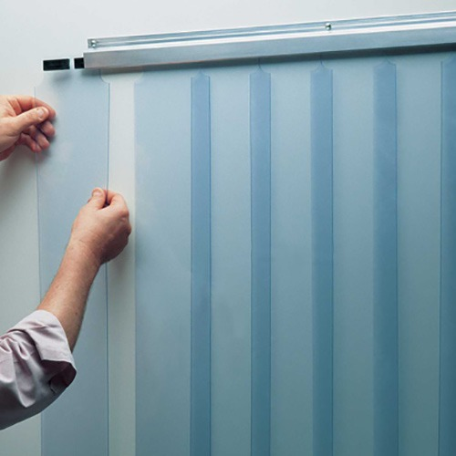 STRIP CURTAIN KIT 38X84  Low Temp  Slidein Strips  401SA606  Walkincoolerpartscom