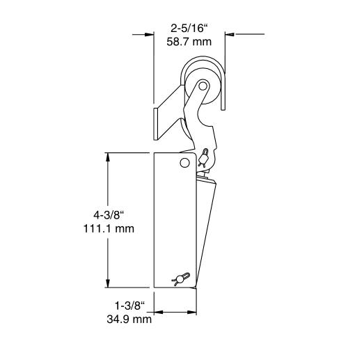 DOOR CLOSER – KASON 1092 – Hydraulic