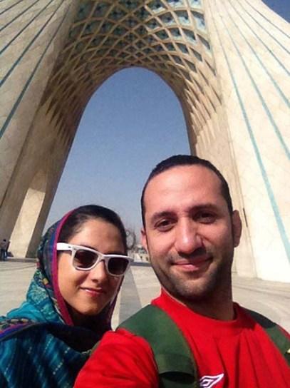 پیادهروی از آزادی به تهرانپارس با پرستو
