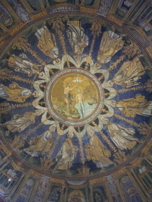 Volta del Battistero Neoniano, Ravenna