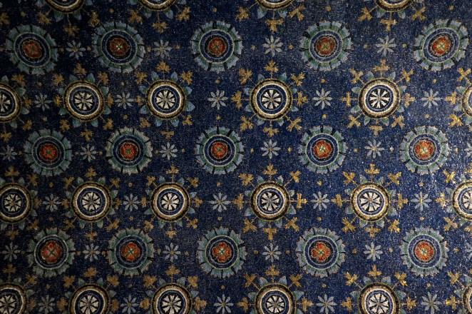 Cieli stellati e fioriti, Mausoleo di Galla Placidia, Ravenna